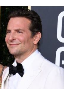 Bradley cooper with a smirk