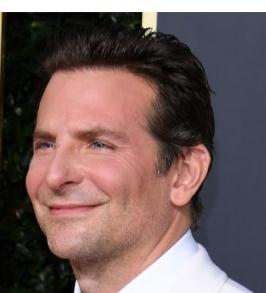 A man putting on a smirk